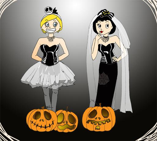 La Poulette de bresse fête halloween