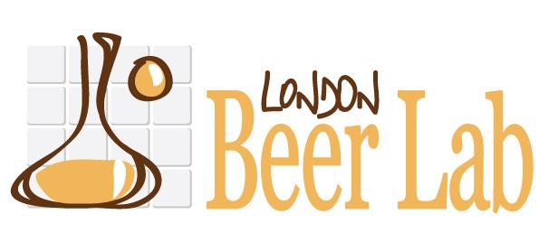 Logo London Beer Lab réalisé par Poulette de Bresse
