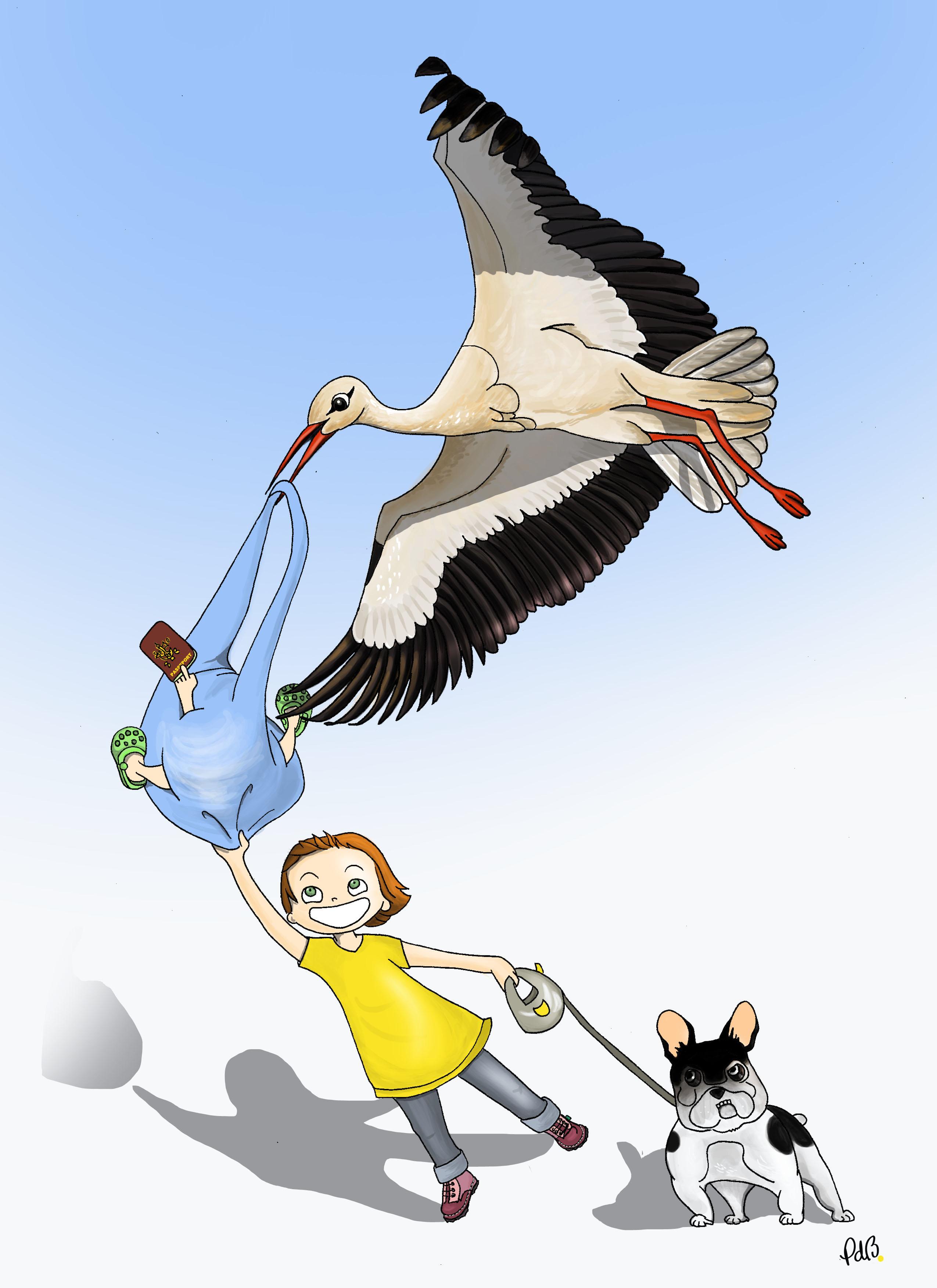 illustration pour décoration d'une chambre d'enfant