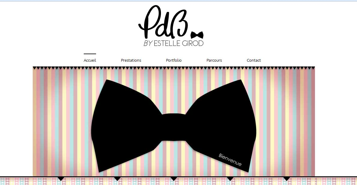 Site officiel PDB by Estelle Girod